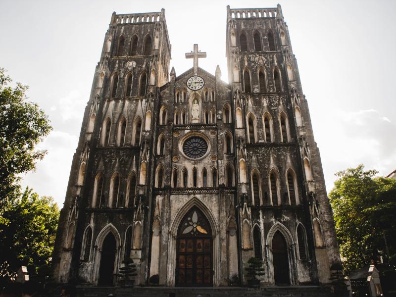 Cathédrale Saint Joseph au Vietnam