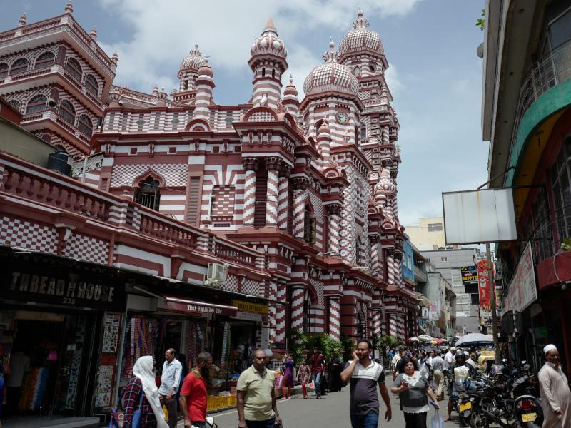 Un kovil, temple hindou, au Sri Lanka